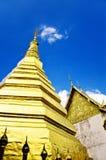 Phra that cho hae temple,Phrae. Travel to Wat Phra That Cho Hae ,Phrae ,Thailand Stock Image