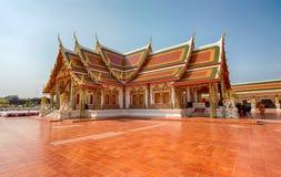 Phra das Choeng-Kumpel-Tempel Sakon Nakhon, Thailand lizenzfreie stockfotografie