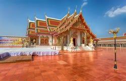 Phra das Choeng-Kumpel-Tempel Sakon Nakhon, Thailand lizenzfreie stockfotos