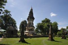 Phra dat Kong Khao Noi een oude stupa of een Chedi in Yasothon, Thailand is Stock Foto