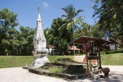 Phra dat Kong Khao Noi een oude stupa of een Chedi in Yasothon, Thailand is stock fotografie