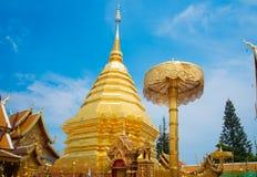 Phra de Wat que Doi Suthep, templo Chiang Mai Provinc Fotos de archivo