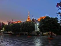Phra den Doi Suthep Arkivfoto