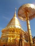 Phra den Doi Suthep Arkivfoton