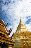 Phra den Doi Suthep i Chiangmai Fotografering för Bildbyråer