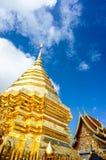 Phra den Doi Suthep i Chiangmai Royaltyfri Bild