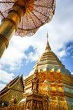 Phra den Doi Suthep i Chiangmai Arkivfoto