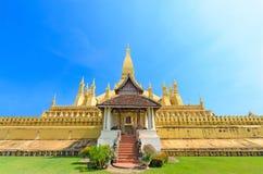Phra den Luang Laos Royaltyfria Foton