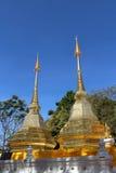 Phra det Doi Tung tempel Arkivbild