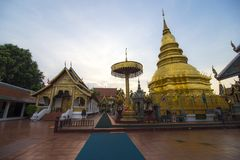 Phra di Wat che hariphunchai Fotografia Stock