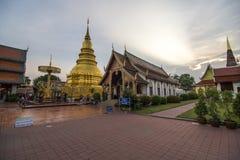 Phra di Wat che hariphunchai Immagine Stock