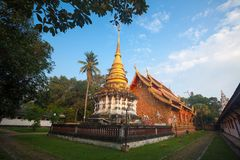 Phra di Wat che luang del lampang, Tailandia Fotografia Stock Libera da Diritti