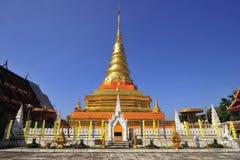 Phra die Chae Haeng, Nan provincie, Thailand Royalty-vrije Stock Afbeeldingen