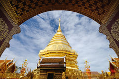 Phra die Doi Suthep. Royalty-vrije Stock Foto