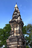 Phra die Kong Khao Noi, oude stupa of chedi die de heilige die overblijfselen van Boedha vastleggen in Yasothon-Provincie, Thaila Royalty-vrije Stock Afbeelding