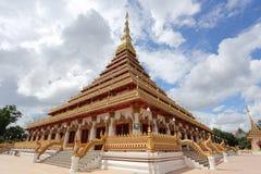 Phra die Nong Waeng in de provincie van Khon Kaen Stock Foto's
