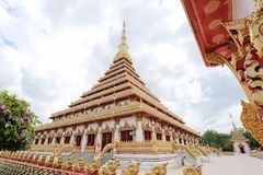 Phra die Nong Waeng in de provincie van Khon Kaen Royalty-vrije Stock Afbeelding