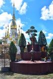 Phra die Wat Suwannakhuha Ubon Ratchathani Thailand stock afbeeldingen