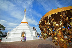 Phra That Doi Kong Mu in Mae Hong Son Royalty Free Stock Photography