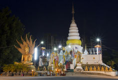 Phra That Doi Leng at Phrae province Stock Photos