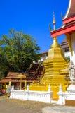 Phra That Doi Tung temple. Beautiful Phra That Doi Tung Buddhist temple near Mae Sai in Thailand Stock Image
