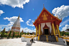 Phra esse templo de Renu Nakhon Imagem de Stock