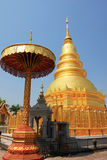 Phra That Hariphunchai Royalty Free Stock Photography