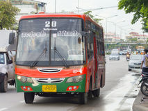 20 Phra Jun Fort - De Pijler van DIN Daeng Royalty-vrije Stock Foto