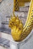 Phra Kaeo, tempel av Emerald Buddha, Bangkok Thailand Arkivfoton