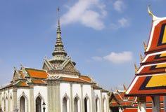 Phra Kaeo, Tempel Emerald Buddhas, Bangkok Thailand Lizenzfreie Stockfotos