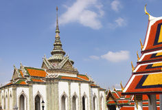Phra Kaeo, Temple of the Emerald Buddha,Bangkok Thailand Royalty Free Stock Photos