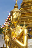 Phra Kaeo, Temple of the Emerald Buddha,Bangkok Thailand Royalty Free Stock Photo