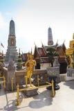 Phra Kaeo, Temple of the Emerald Buddha,Bangkok Thailand Royalty Free Stock Photo