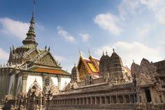 Phra Kaeo, templo de Emerald Buddha, Bangkok Tailandia Fotos de archivo