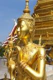 Phra Kaeo, templo de Emerald Buddha, Bangkok Tailandia Foto de archivo libre de regalías