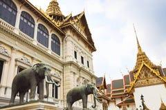Phra Kaeo, templo de Emerald Buddha, Bangkok Tailandia Fotos de archivo libres de regalías