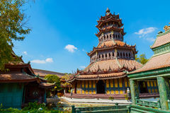 Phra Kaew亭子在泰国 库存照片