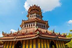 Phra Kaew亭子在泰国 图库摄影