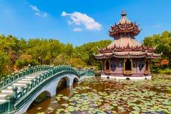 Phra Kaew亭子在泰国 免版税库存照片