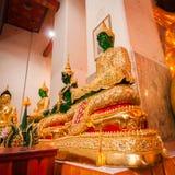 Phra Kaew Emerald Buddha image of 3 season Royalty Free Stock Photos
