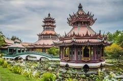 The Phra Kaew Pavilion Stock Photo