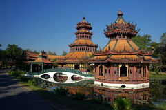 The Phra Kaew Pavilion, Thailand Royalty Free Stock Photo