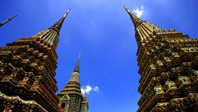 Phra kaew tempel royalty-vrije stock afbeelding