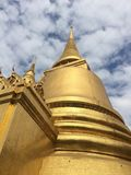 Phra kaew temple and Blue sky Stock Photography
