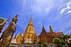 Phra kaew temple in thailand Stock Images