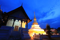 Phra That Kham Kaen in Khon Kaen,Thailand Stock Images