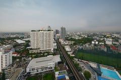 Phra Khanong, Sukhumvit-Straße in Khlong Toei, Bangkok-Stadt, Thail Stockfotografie