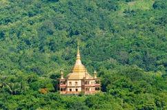 Phra That Khong Santi Chedi pagoda, Luang Pra Bang, Laos Royalty Free Stock Photo