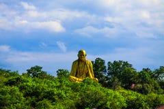 Phra Kruba Srivichai Shrine. At the foot of Doi Suthep on Suthep road is the Phra Kruba Srivichai Shrine. Phra Kruba Srivichai is perhaps the most revered Monk Stock Image