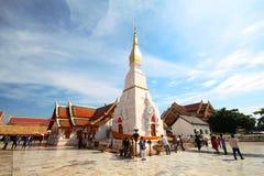 Phra Który Choeng kmotr, Sakhon Nakhon Tajlandia obraz stock